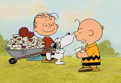 VDay Charlie Brown