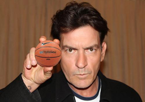Charlie Sheen Basketball