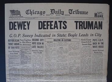 dewey defeats truman newspaper 17 small cover