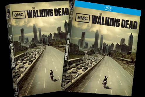 walking dead dvds