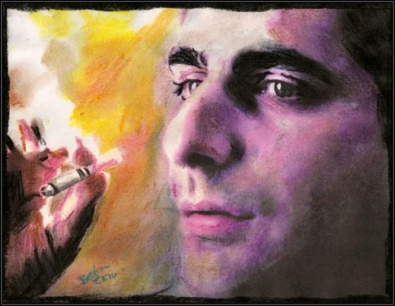 Christopher Moltisanti by breadzilla 560x434