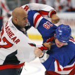 Former NHL Fighter Heads to MMA
