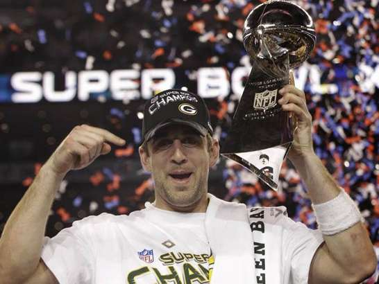 aaron rodgers super bowl 45 mvp green bay packers