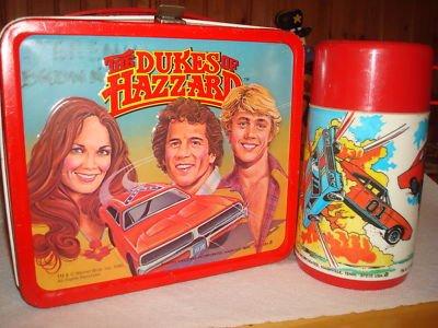 dukes of hazzard metal lunch box
