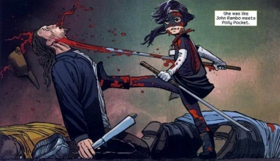 hit girl comic 560x322