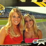 Miss Hot for NASCAR on : Kyle Busch vs. Childress