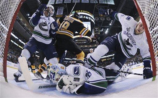 83811 Stanley Cup Canucks Bruins Hockey