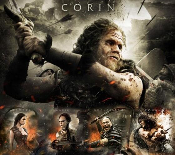 Conan the Barbarian Character Posters 560x495