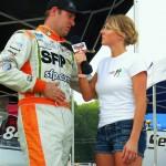 Miss Hot for NASCAR on : Jeff Gordon and Jennifer Jo Cobb
