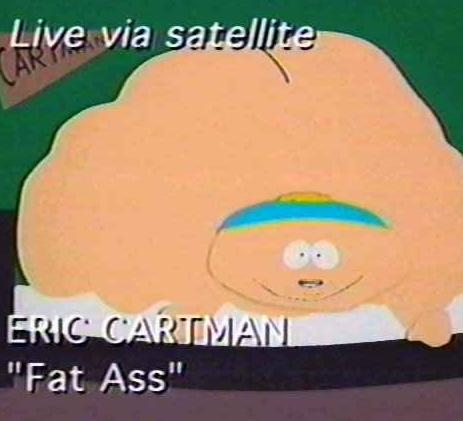 eric cartman fat ass