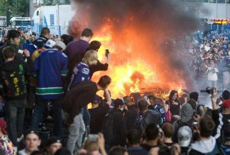 vancouver bc riots
