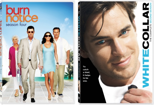 white collar s2 burn notice s4 dvd