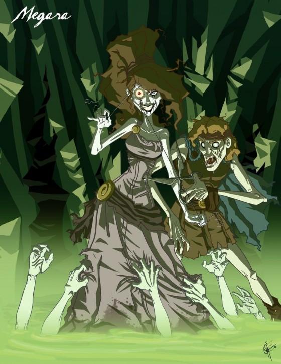 Twisted Princess Megara by jeftoon01 560x724