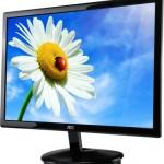 AOC: Aire Black LED Monitor