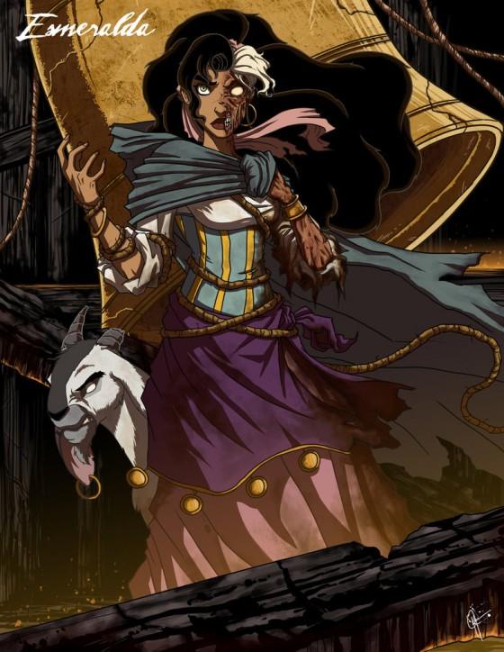 twisted princess esmeralda by jeftoon01 d3ev2nc 560x724