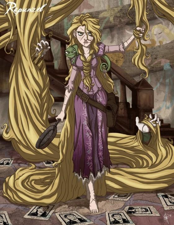 twisted princess rapunzel by jeftoon01 d35mvla 560x724