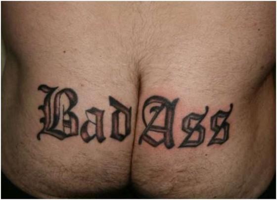 Bad Ass Ass Tattoo 560x404