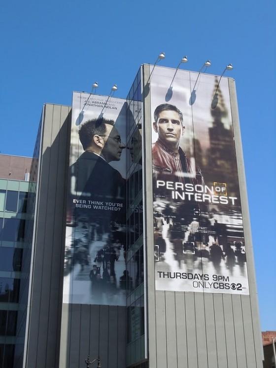 Giant PersonOfInterest billboard 560x746