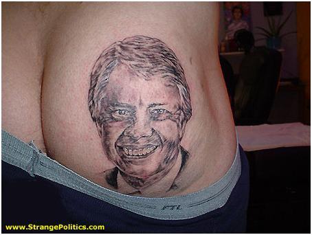 Jimmy Carter Ass Tattoo