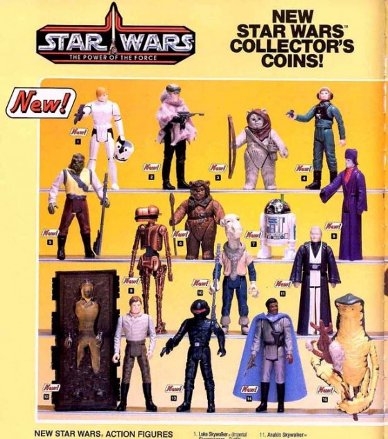 Last 17 POTF Figures from Kenner 1985 Catalog 560x634