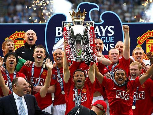 Manchester United 2011 English League Champions