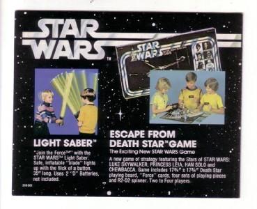 Vintage SW toys