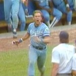 George Brett Has An Accident