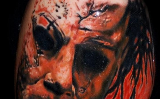 Michael Myers Halloween Tattoo 560x348