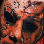 Creepy, Spooky, Scary Halloween Tattoos
