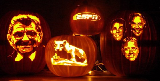 Pumpkin Carving Sports 560x282