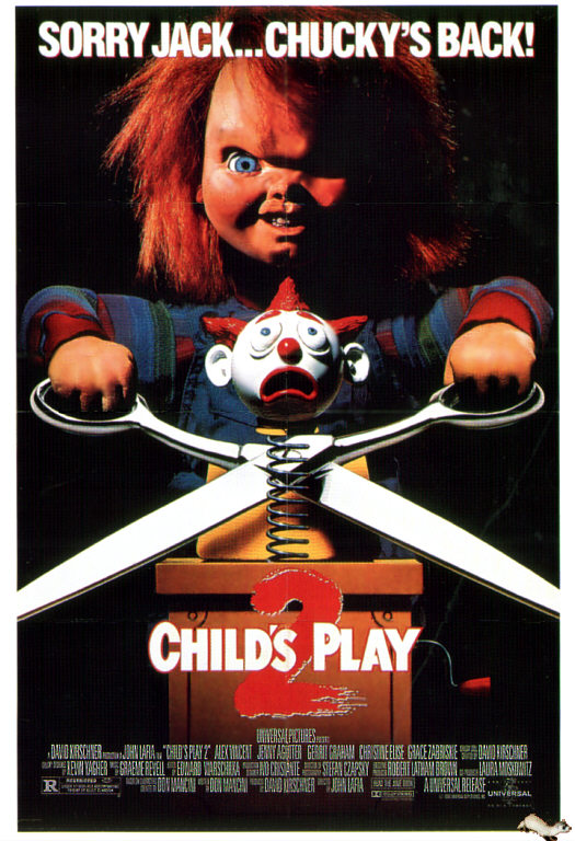 childs play 2 1990poster