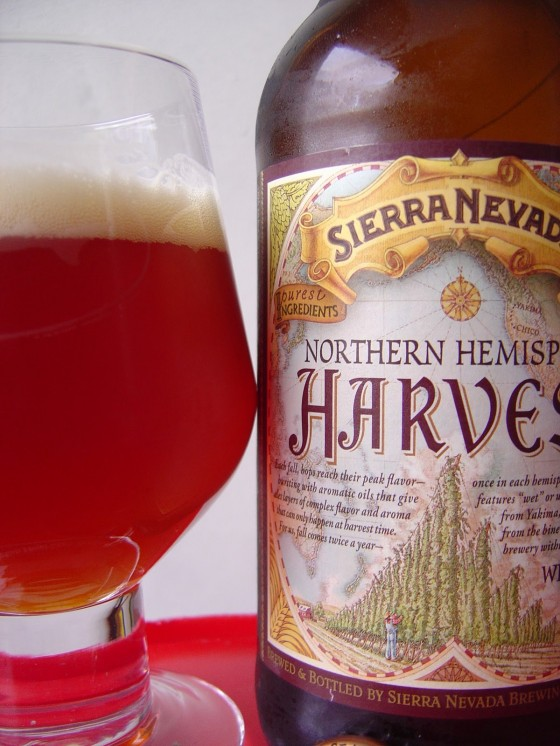 Sierra Nevada Northern Hemisphere Harvest Wet Hop Ale 560x746