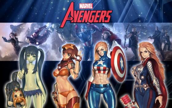 Avengers Sexiness 560x350
