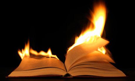 Burning book 001