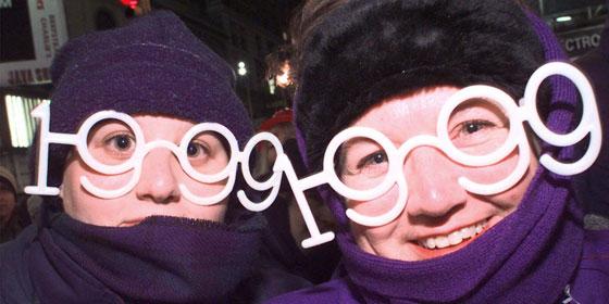 New Years Glasses 1999