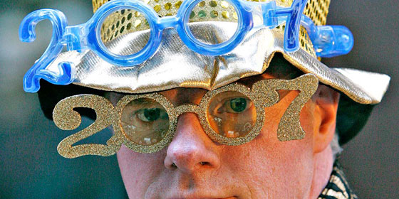 New Years Glasses 2007
