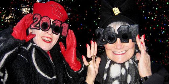 New Years Glasses 2011