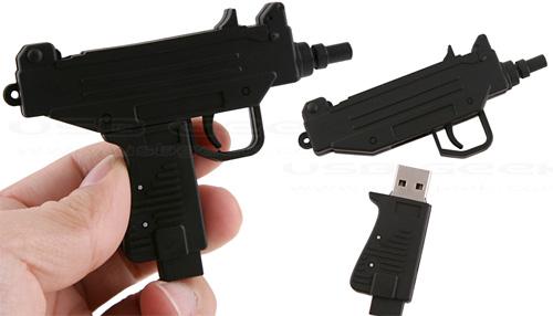 flash machine gun