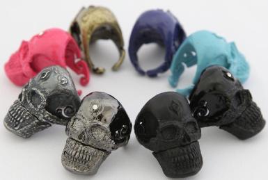 skull ring usb flash drive