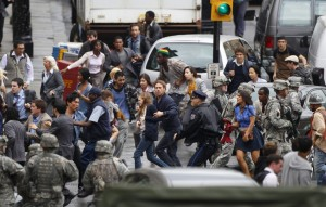 150399 actor brad pitt c runs during the filming of zombie movie world war z 300x191