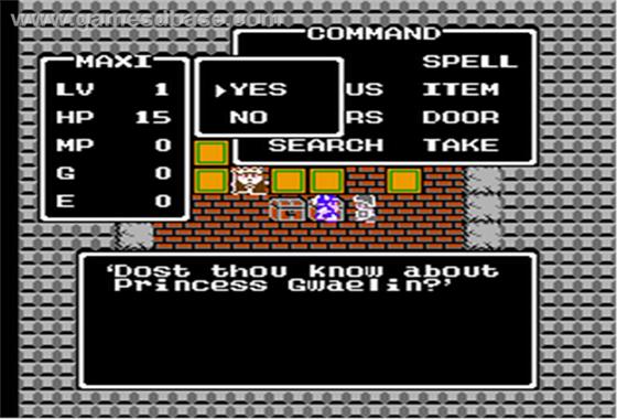 Dragon Warrior 1989 ScrnShot