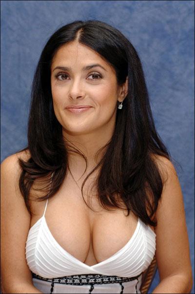 hayek breasts