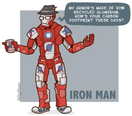 Iron Man Hipster 560x493