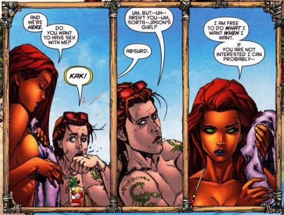 Nude Starfire DC Comics 560x424