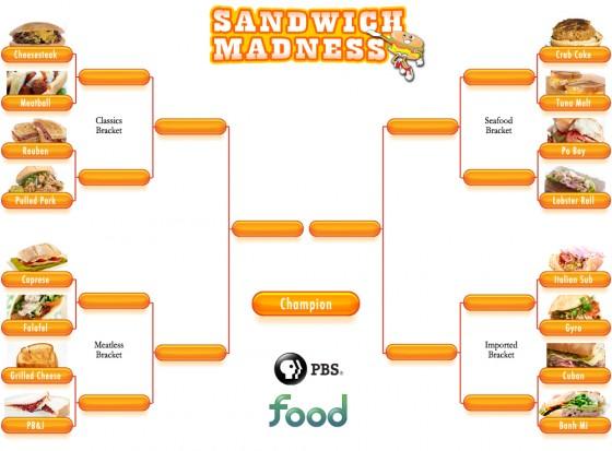 Sandwich Madness Bracket 560x413
