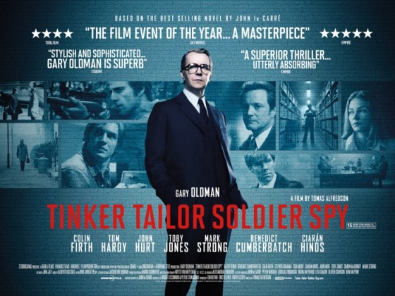 Tinker Tailor Soldier Spy Poster Quad 560x420