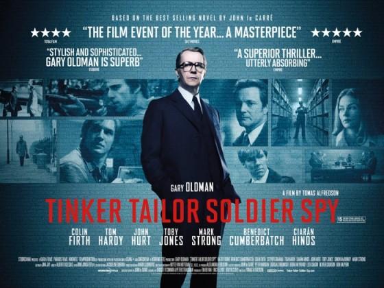 Tinker Tailor Soldier Spy Poster Quad 560x420