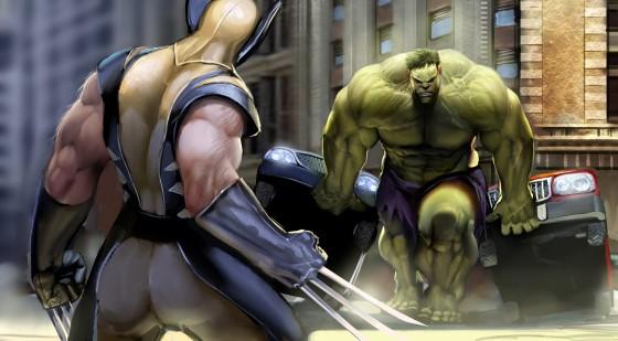 wolverine vs hulk by nebezial e1332360334304 560x309