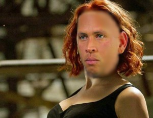 arod as Black Widow 300x231