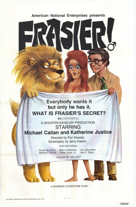 frasier the sensuous lion movie poster 1973 1020248418 560x848